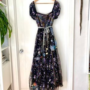 Dresses & Skirts - Out Of This World Cosmic Maxi Party Dress